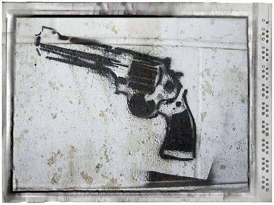 Car park graffiti by creativebubble