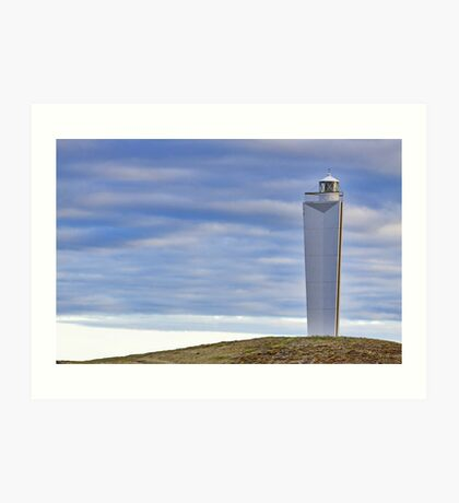 Lighthouse at Cape Jervis Art Print