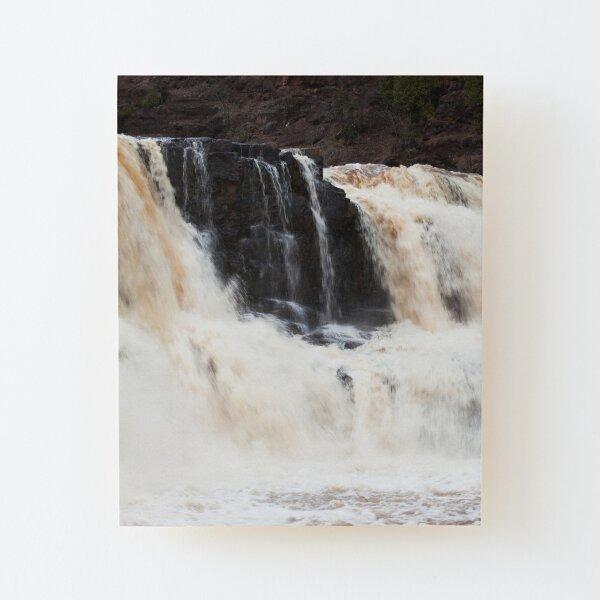 Gooseberry Falls Wood Mounted Print