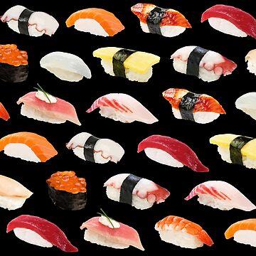 Sushi Print by jaelee34