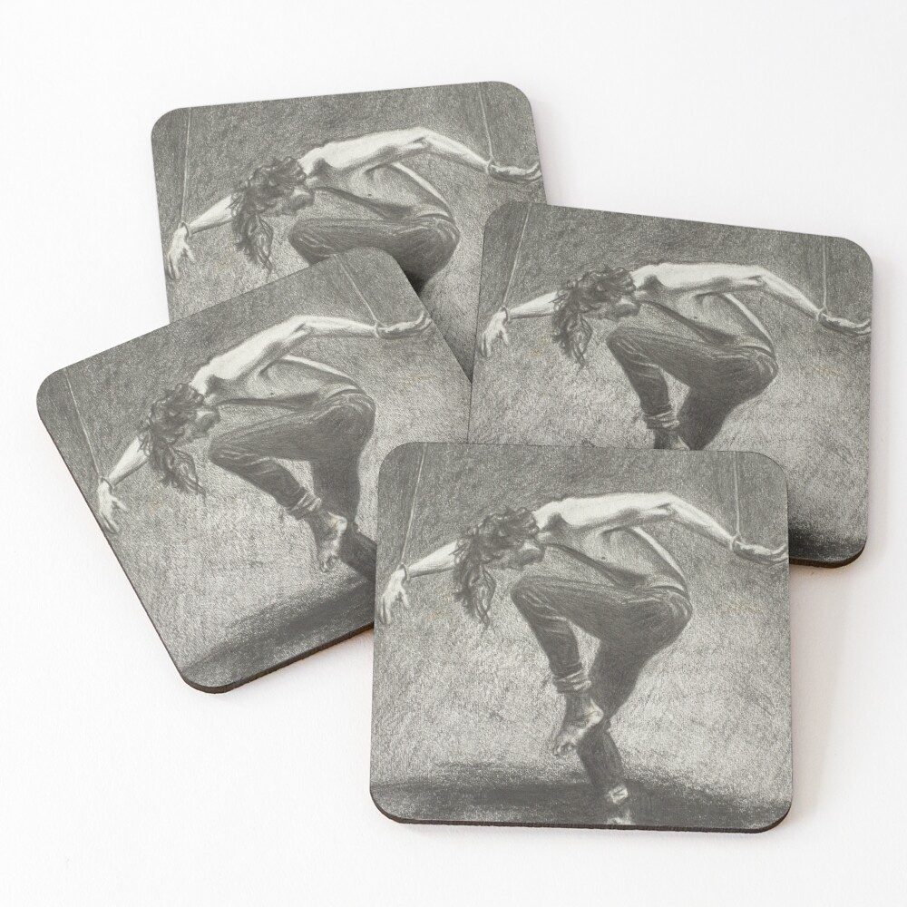 Man in Bondage - Fernal Files Cover Coasters (Set of 4)