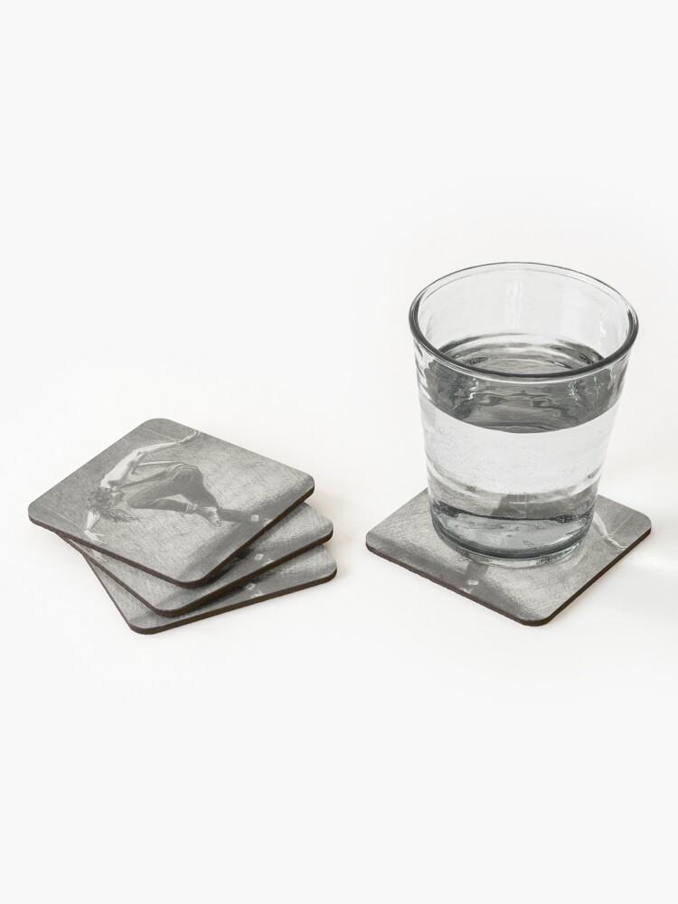Alternate view of Man in Bondage - Fernal Files Cover Coasters (Set of 4)