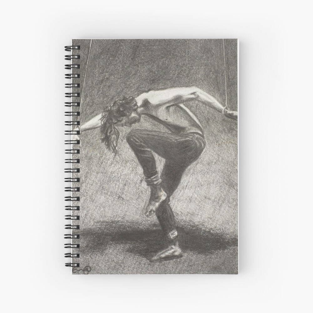 Man in Bondage - Fernal Files Cover Spiral Notebook