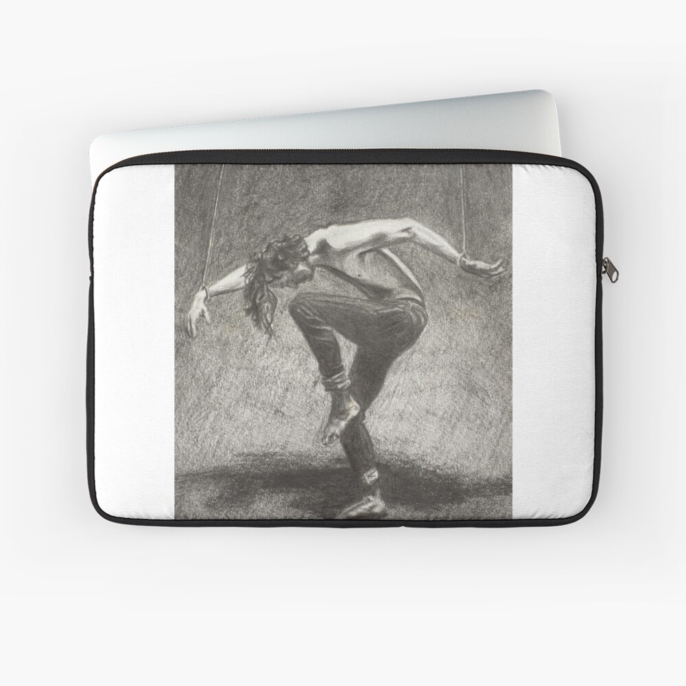 Man in Bondage - Fernal Files Cover Laptop Sleeve
