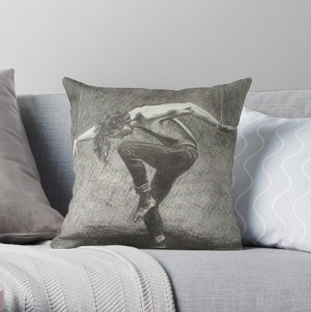 Man in Bondage - Fernal Files Cover Throw Pillow