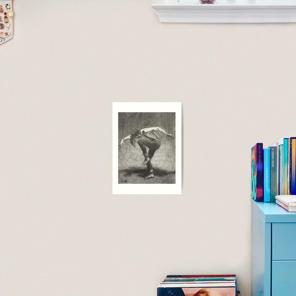 Man in Bondage - Fernal Files Cover Art Print