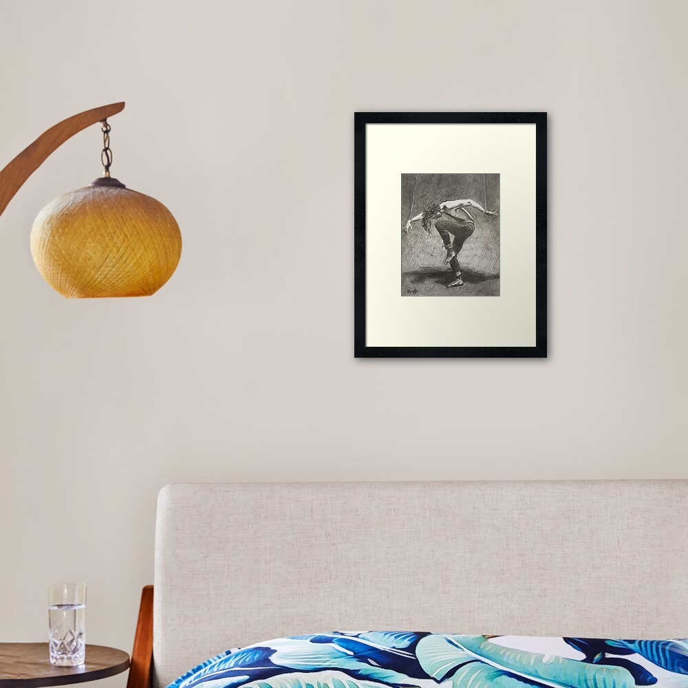 Man in Bondage - Fernal Files Cover Framed Art Print
