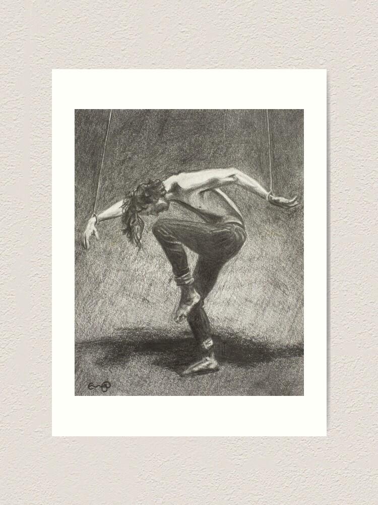 Alternate view of Man in Bondage - Fernal Files Cover Art Print