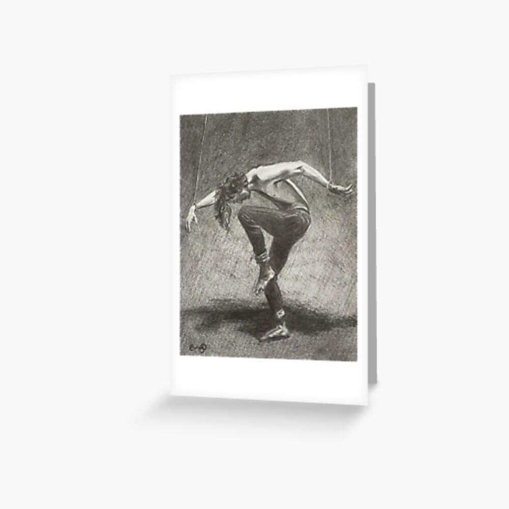 Man in Bondage - Fernal Files Cover Greeting Card