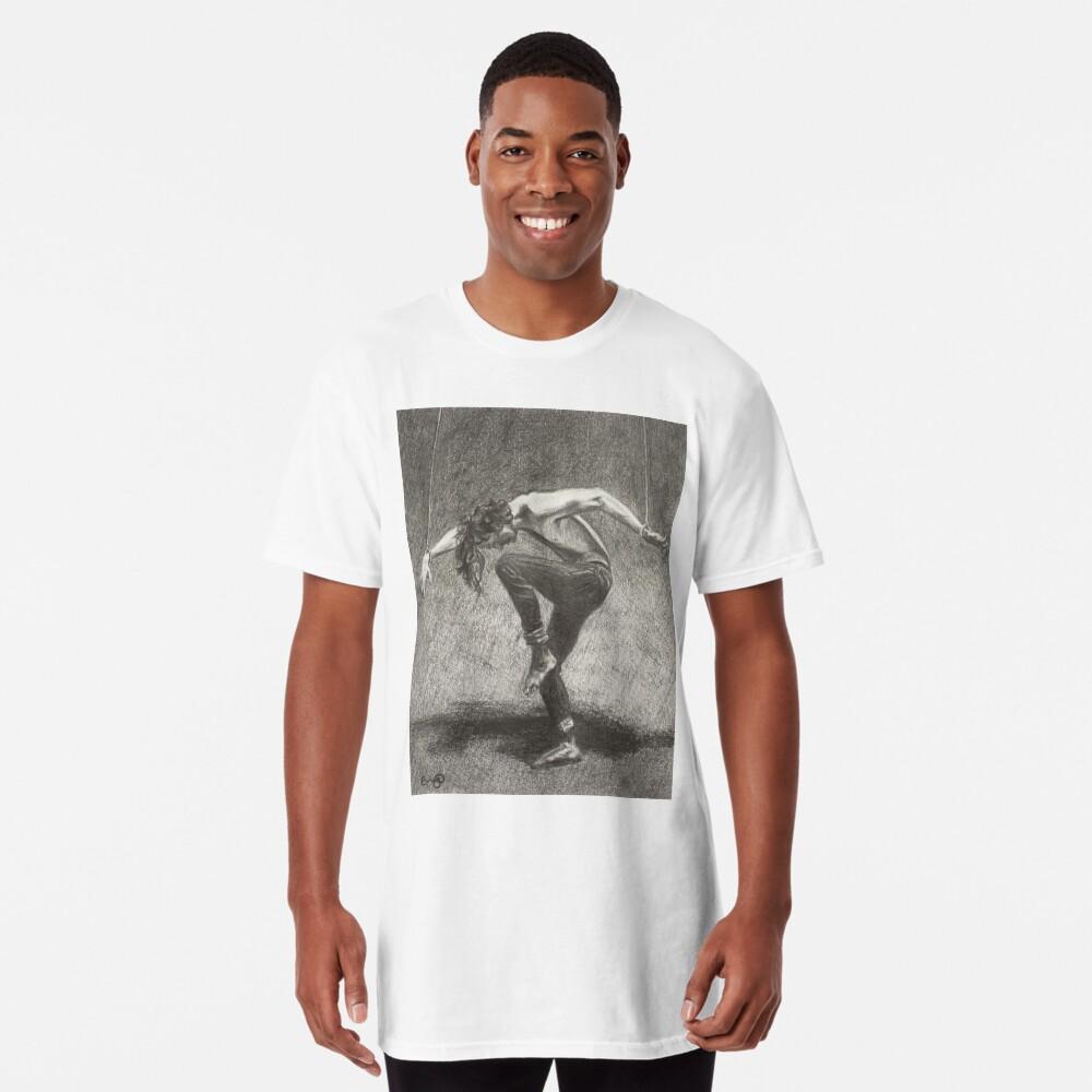 Man in Bondage - Fernal Files Cover Long T-Shirt