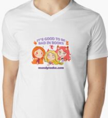 It's good to be bad - chibi girls V-Neck T-Shirt