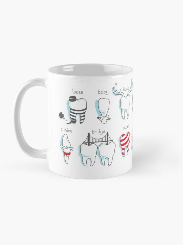 Alternate view of Dental Definitions Mug