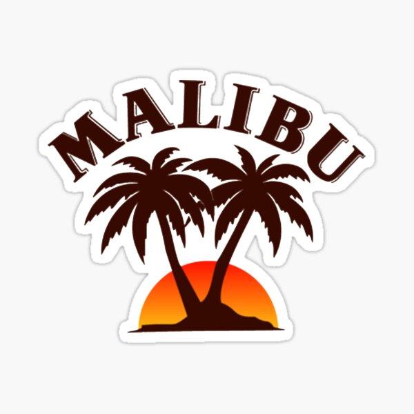 Logo de Malibu Sticker