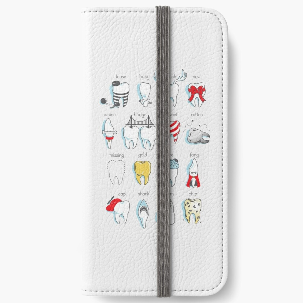 Dental Definitions iPhone Wallet