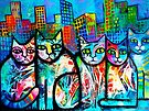 Urban Cats 2 by Karin Zeller