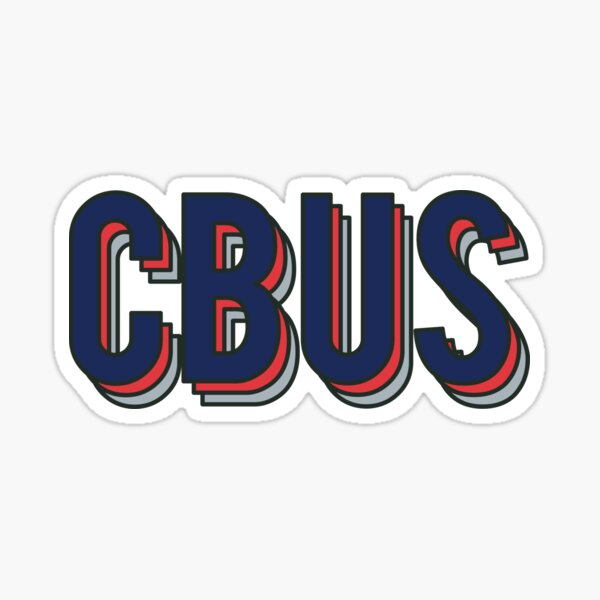 CBUS - Blue Jackets Theme Sticker