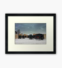 """"""" Wood in it Be Nice to Ride Away """" Framed Print"""