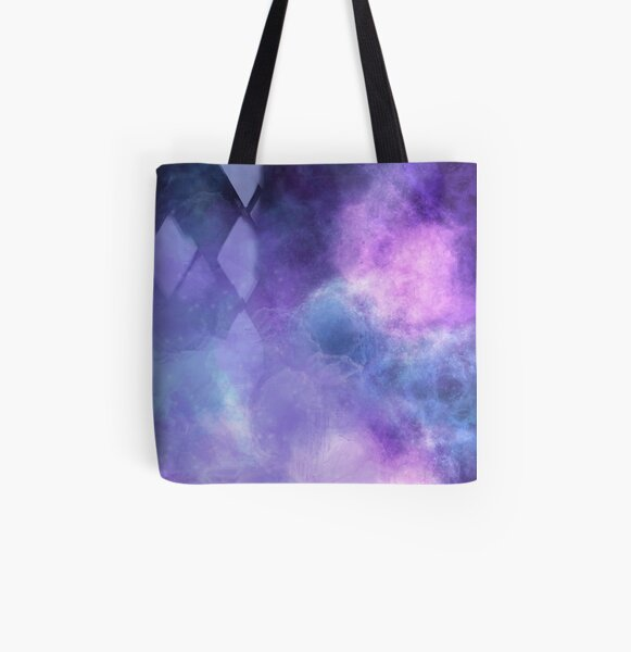 Celestial Wormhole All Over Print Tote Bag
