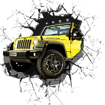 Jeep Truck Offroad Cars 3D by dezing