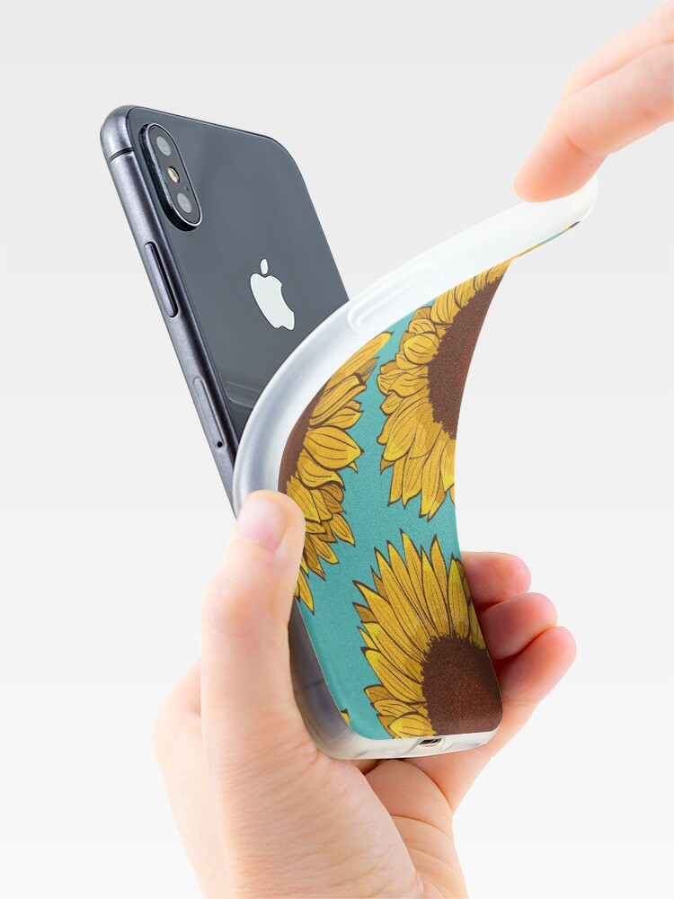 Alternate view of Sunflower iPhone Case & Cover
