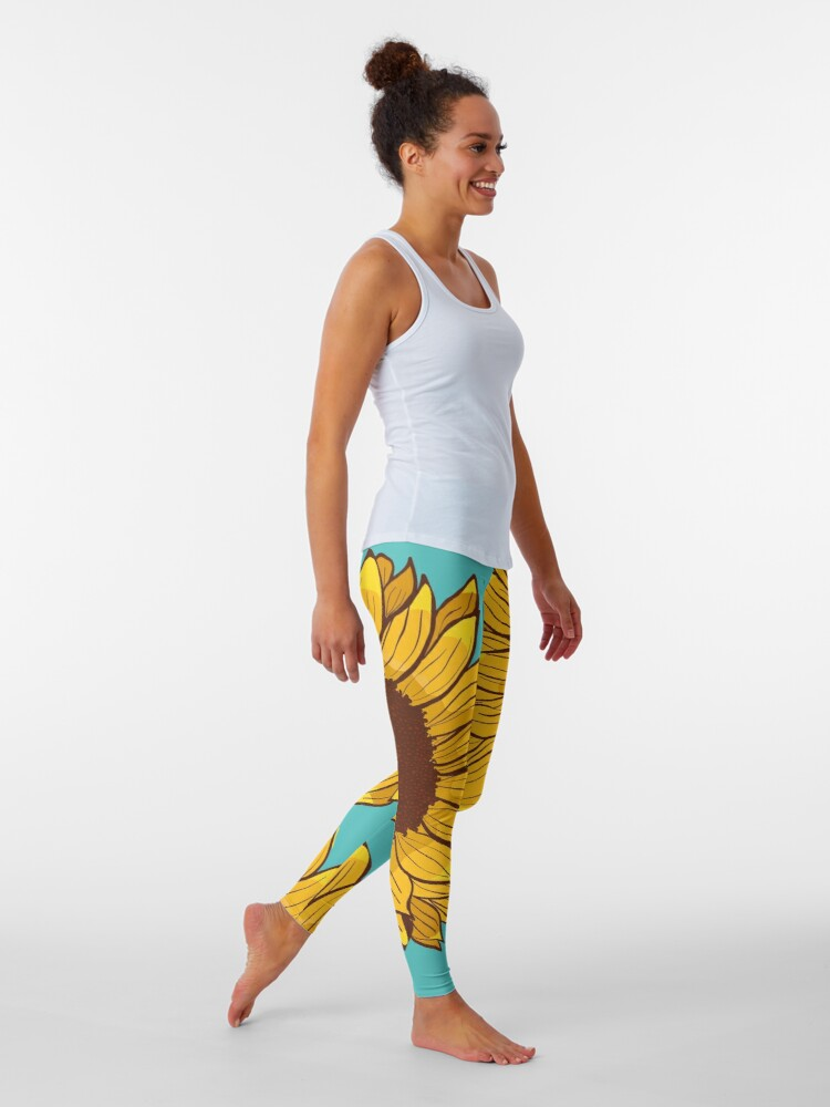 Alternate view of Sunflower Leggings