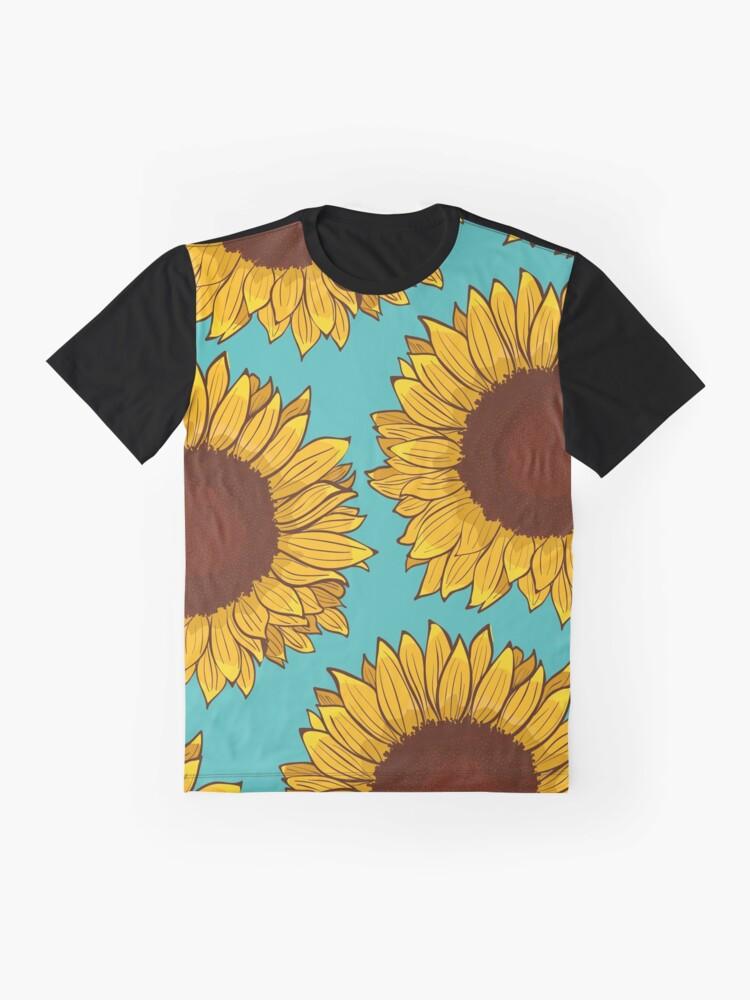 Alternate view of Sunflower Graphic T-Shirt