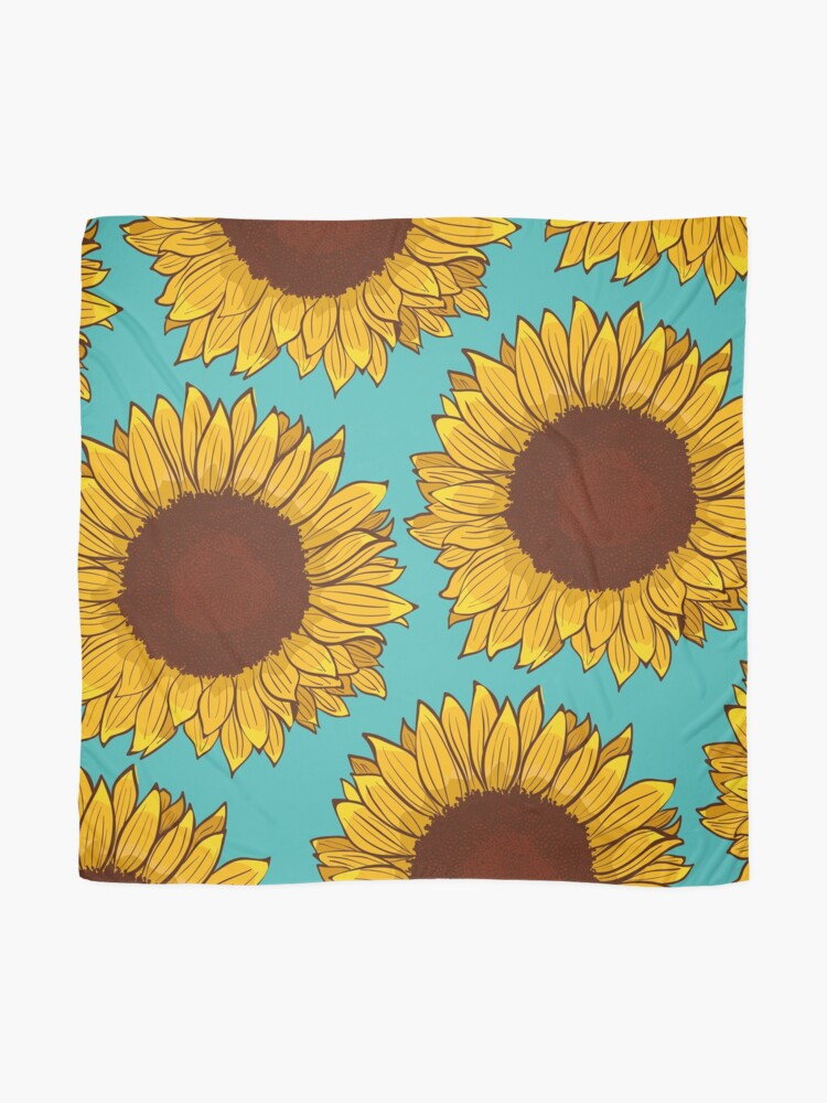 Alternate view of Sunflower Scarf
