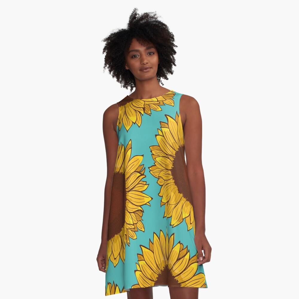 Sunflower A-Line Dress