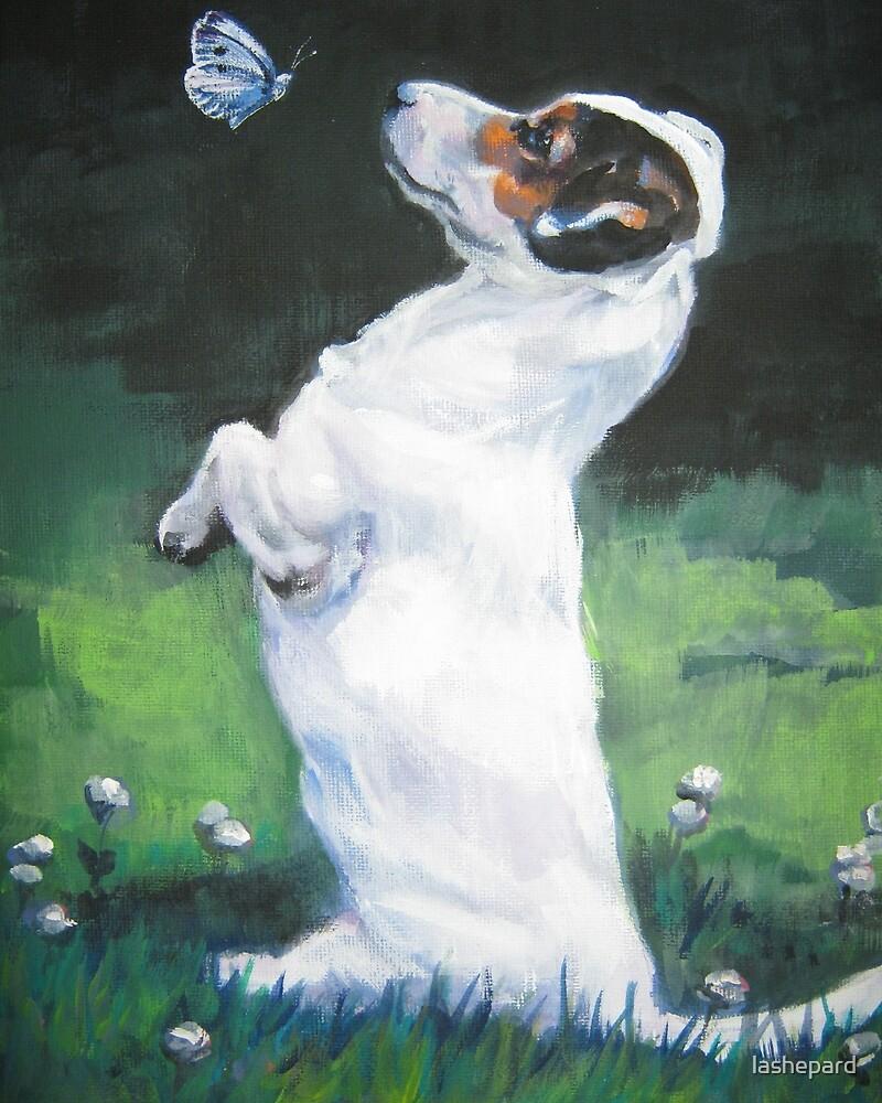 Jack Russell Terrier Fine Art Painting by lashepard
