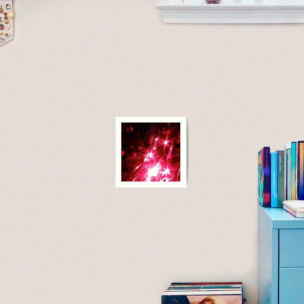 Light Show Art Print