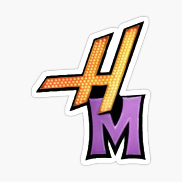 HM logo Sticker