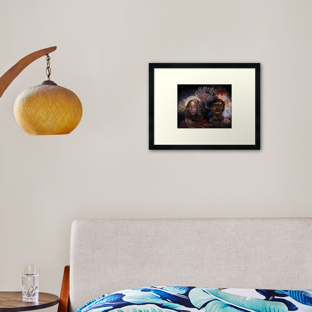 The OA Homer & Prairie Framed Art Print