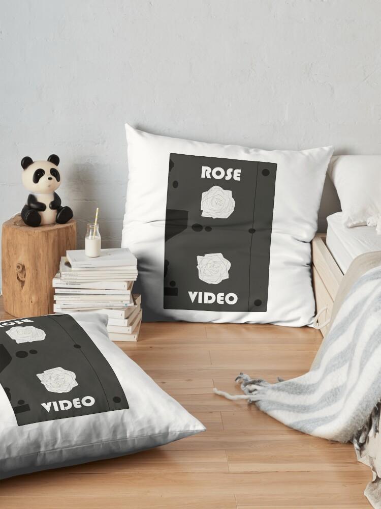 Alternate view of Rose Video (logo) Floor Pillow