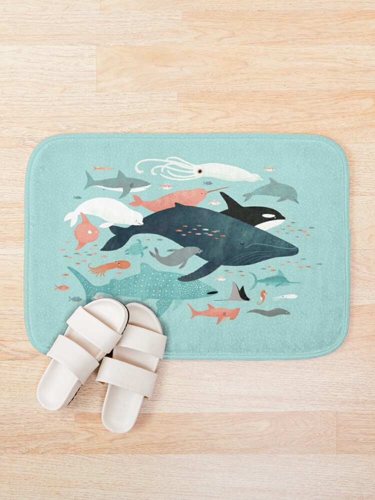 Alternate view of Under the Sea Menagerie Bath Mat