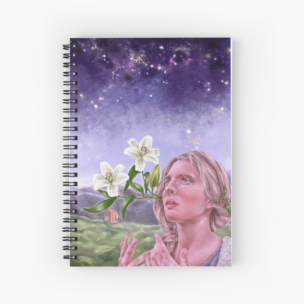 The OA round stickers Spiral Notebook