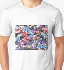 Colorful Mixed Media Art  Unisex T-Shirt