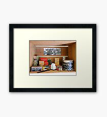 Antiques On The Ranch Framed Print