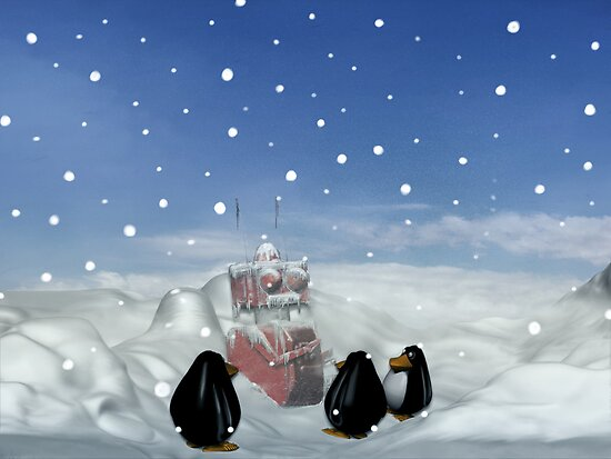 Sleeping with the Penguins by mdkgraphics