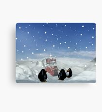 Sleeping with the Penguins Canvas Print