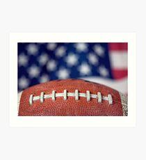 Super Bowl Ball Art Print