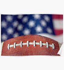 Super Bowl Ball Poster