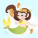 Tropical Mermaid by lobomaravilha