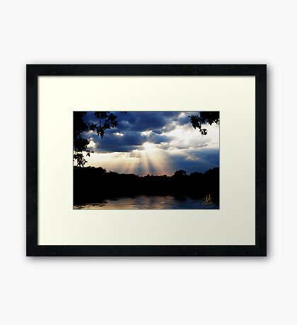 Beauty in the Storm 2 Framed Print