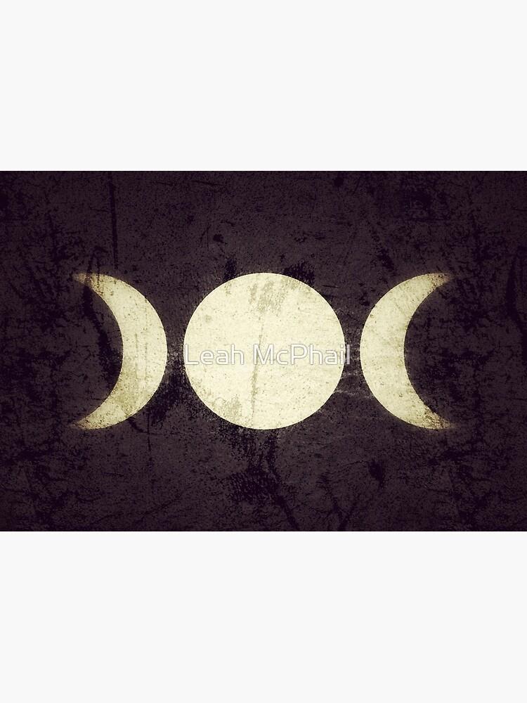 Triple Moon Goddess  by LeahMcPhail