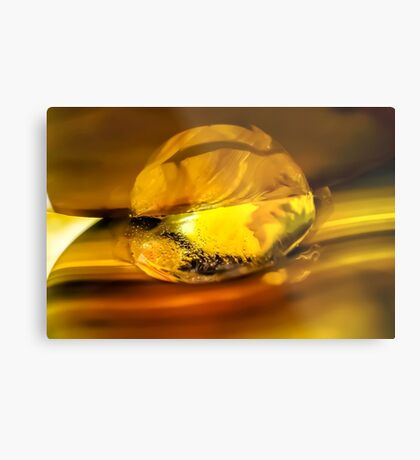 Obsessed with Your Light Metal Print