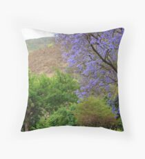 Jacaranda  Throw Pillow