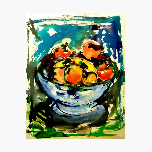 bowl of fruits Photographic Print