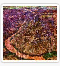 Desert Varnishes - Grand Canyon Sticker