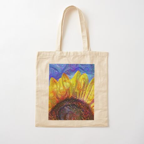 Solar eyelashes Cotton Tote Bag