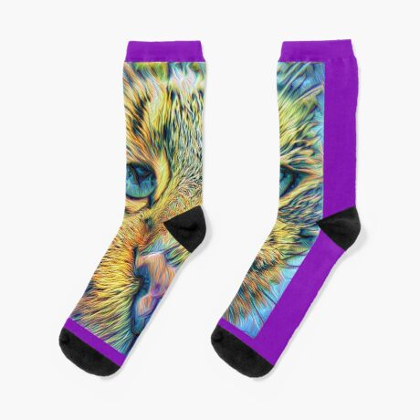 #DeepDreamed Cat v1449127170 Socks